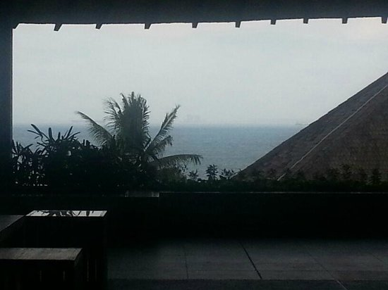 Turi Beach Resort:                   View from the hotel's lobby