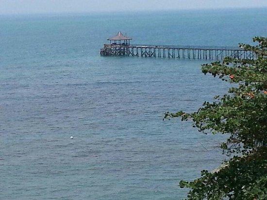 Turi Beach Resort:                   View from the room