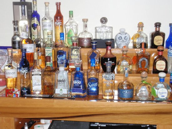 Cilantro: Great selection of Tequila's