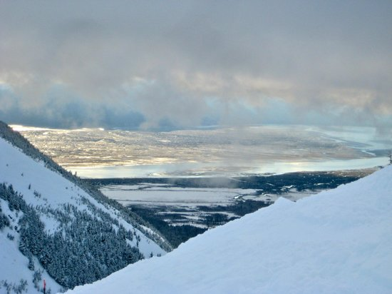 Alyeska Ski Area : Near Chair 6