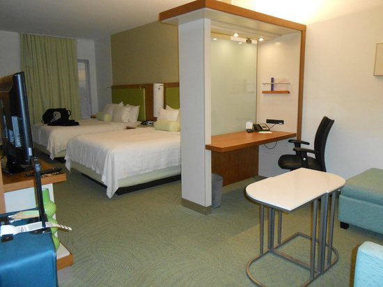 SpringHill Suites Houston Baytown:                   Our room was very spacious and comfortable!