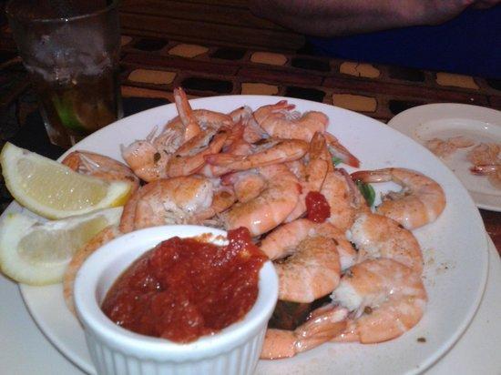 George & Wendy's Sanibel Seafood Grille :                   Peel and Eat Shrimp