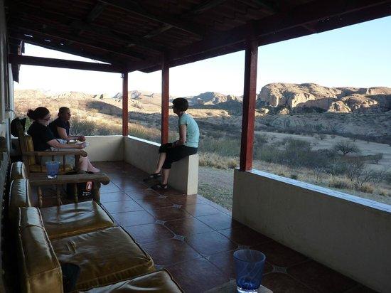 Tierra Chamahua EcoAdventures at Rancho Los Banos:                   The amazing porch.