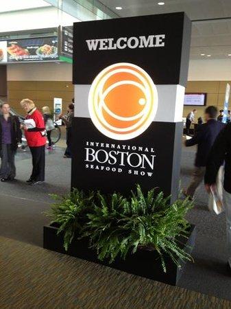 Boston Convention & Exhibition Center: boston seafood show