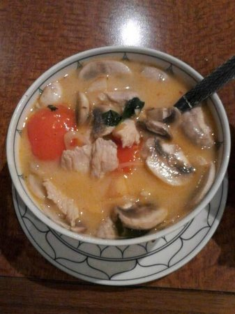 Baan Thai:                   Coconut Chicken Soup