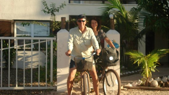 Three Iguanas Villa:                   Grab a bike and a bud for a local tour