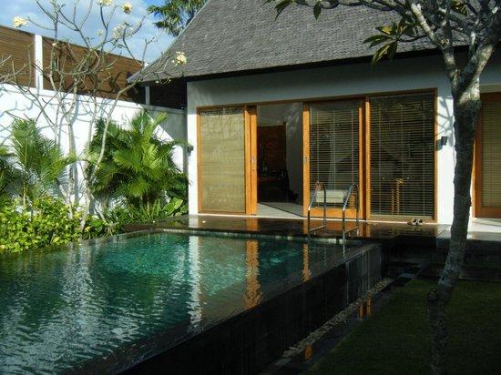 The Samaya Bali Seminyak:                   ヴィラのプール