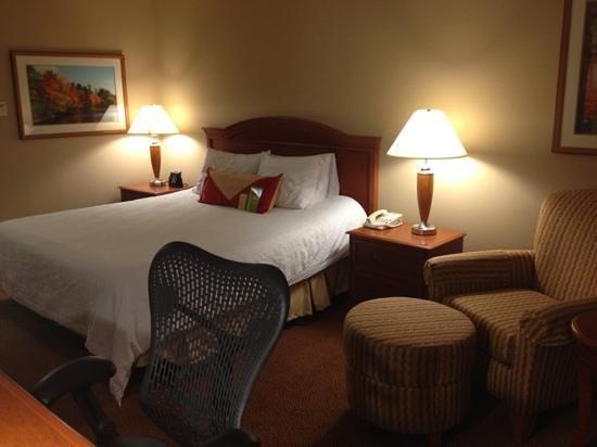 Hilton Garden Inn Poughkeepsie/Fishkill:                   another view room 319