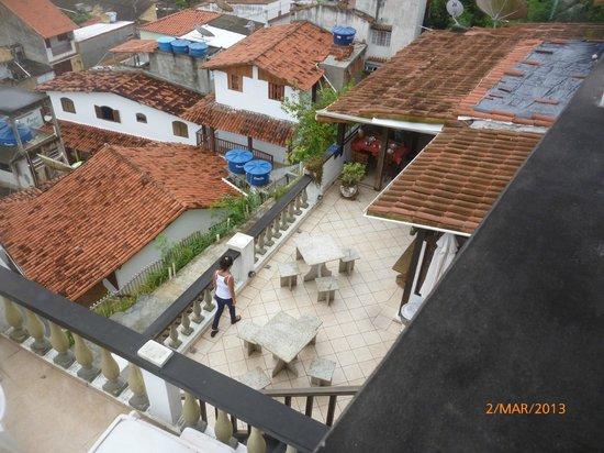 Pousada Mar Dos Anjos:                   terraza comedor