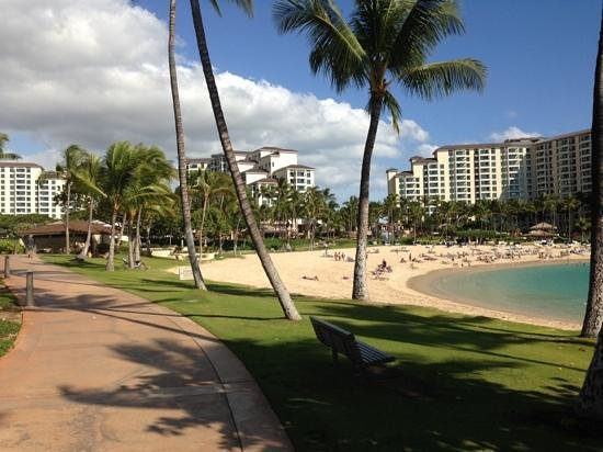 Marriott Ko Olina Beach Club:                                     another lagoon