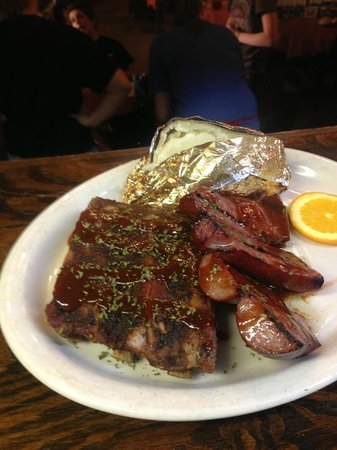 Red River Steakhouse: BBQ Rib and Sausage Special Friday Nights