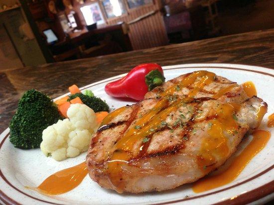 Red River Steakhouse: Texas Gold Pork Chop
