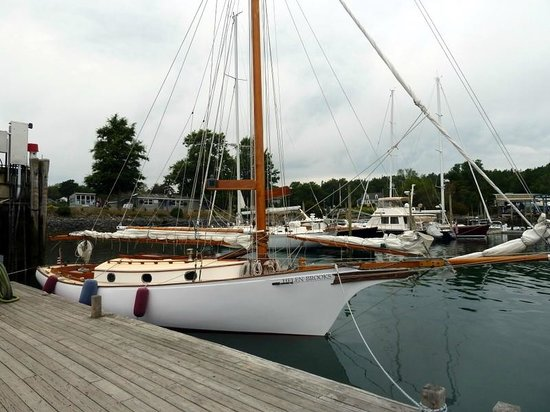 Sail Acadia: At the dock
