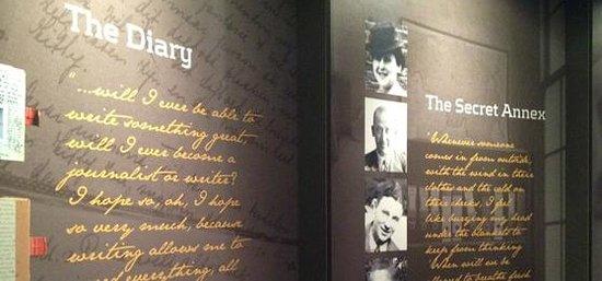 The Anne Frank Center USA: Interactive exhibit area