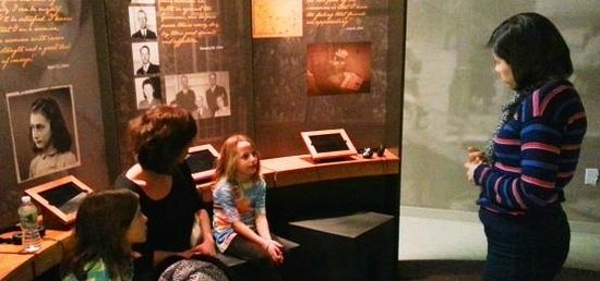 The Anne Frank Center USA: Personalized tours for adults, families, and groups