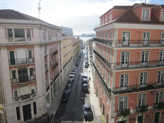 Casa do Bairro by Shiadu: The view from our room