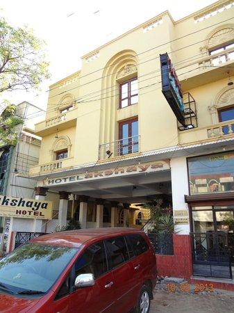 Hotel Akshaya: Facade of hotel