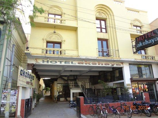 Hotel Akshaya: Hotel front view
