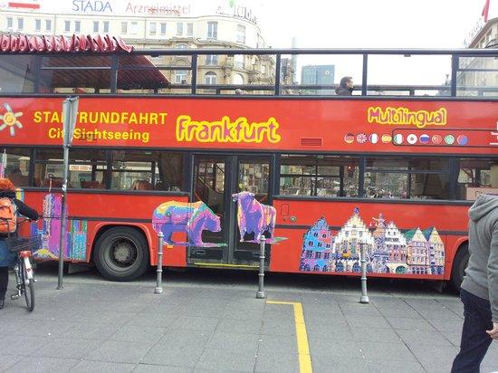 City Sightseeing Frankfurt:                   frankfurt