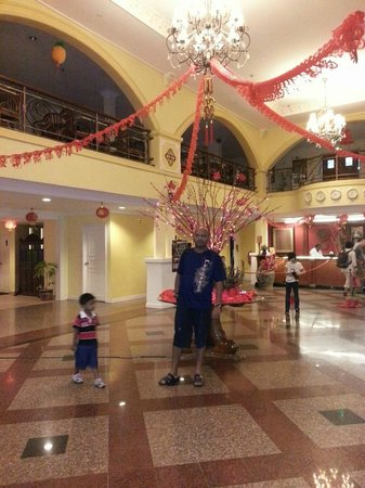 Bella Vista Waterfront Resort & Spa Langkawi:                                     Lobby - Chinese New Year Deco -2013