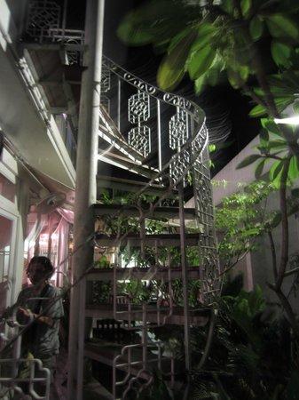 NAK Hotel:                   Lots of greenery