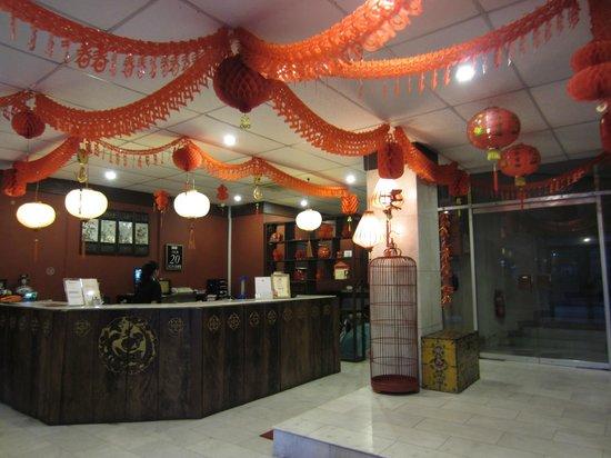 NAK Hotel:                   Lobby