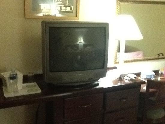 Florencia Plaza Hotel: yes, this is the tv set