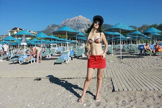 Club Hotel Phaselis Rose: Чистый пляж