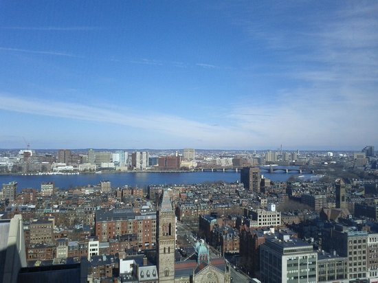 The Westin Copley Place, Boston:                   View from #2507