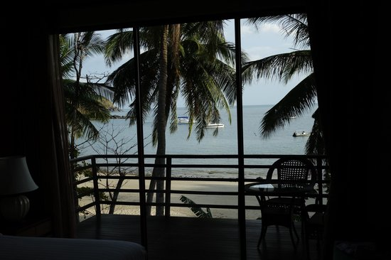 Anda Lanta Resort:                   View from room, balcony in foreground.