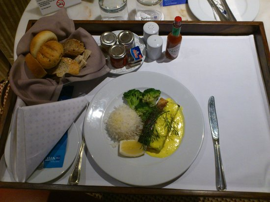 Radisson Blu Hotel, Doha: Room Service - Dinner