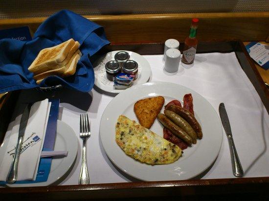 Radisson Blu Hotel, Doha: Room Service - Breakfast