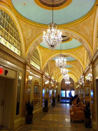 Fairmont Copley Plaza, Boston: Spectacular Lobby