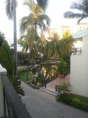 Palm Beach Resort & Spa Sanya: вид из номера на пруд