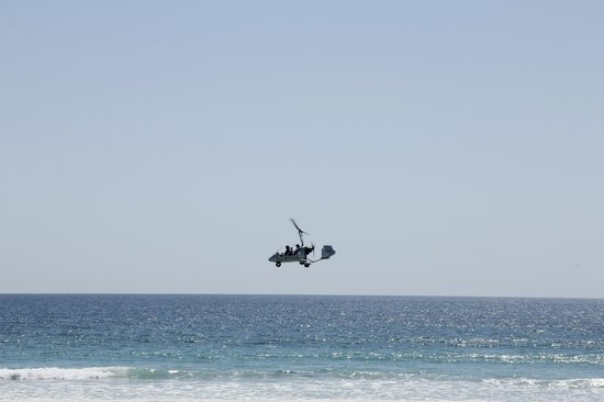 Lodge Las Ranas:                   Gyrocopter 15' over Playa Barrigona - don't miss this ride!!!