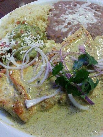 La Cabana de Suisun Restaurant: Pollo ala Jalapeño
