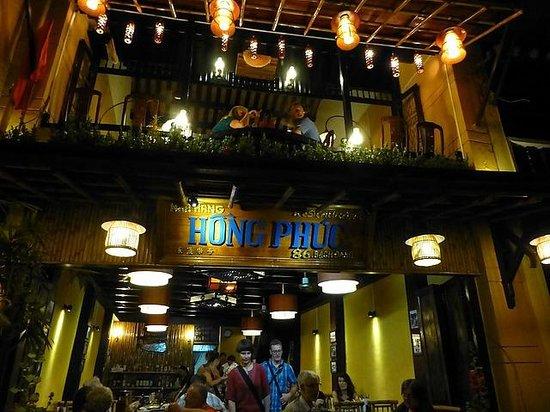 Hong Phuc: entrance to the restaurant