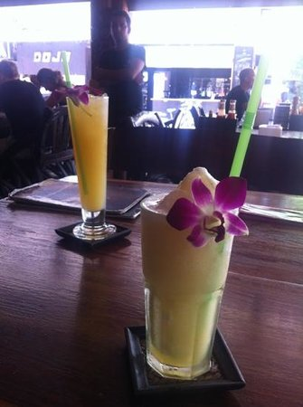 Pirates House:                   pineapple shake to bit the hangover at pirate house
