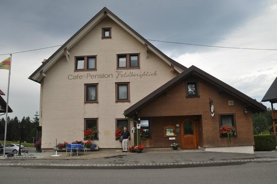Cafe -Pension Feldbergblick:                   the hotel