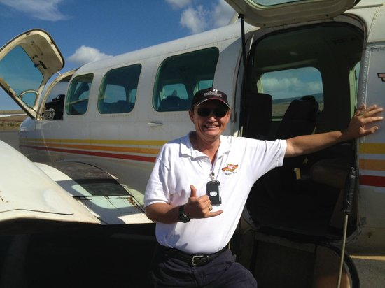 Volcano Air Tours:                   Captain Bill!