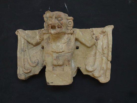 The Bat Symbol Of Copan Picture Of Sculpture Museum Copan Ruinas