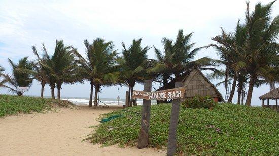 Paradise Beach Entrance