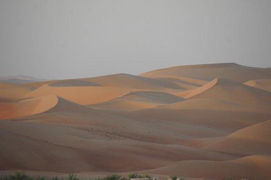 Qasr Al Sarab Desert Resort by Anantara:                   scenery