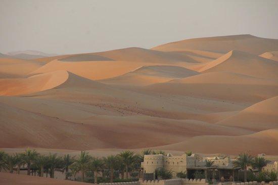 Qasr Al Sarab Desert Resort by Anantara:                   view