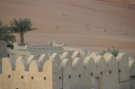 Qasr Al Sarab Desert Resort by Anantara:                   view