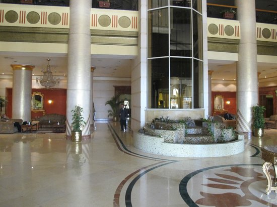 Helnan Aswan Hotel :                   One third of a very large lobby