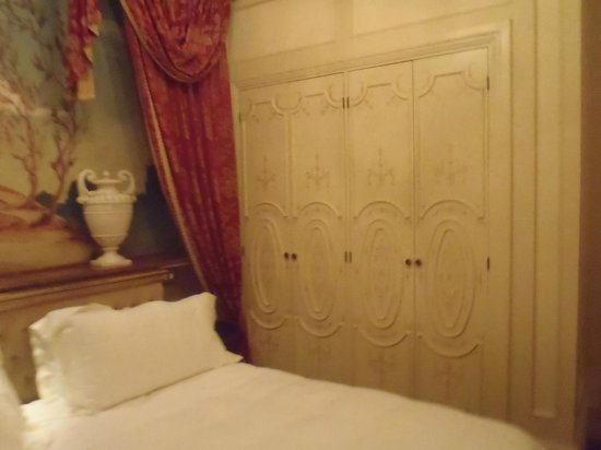 The St. Regis Rome:                   Bedroom closets. They were big.