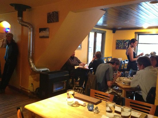Ginger Cafe: Part Of The Dining Area
