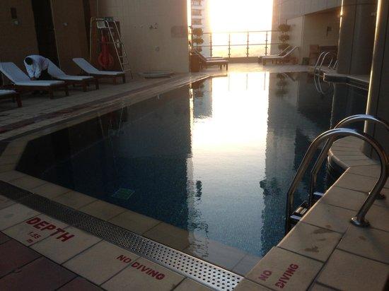 Grand Millennium Dubai:                   Swimming Pool on the Roof Top.