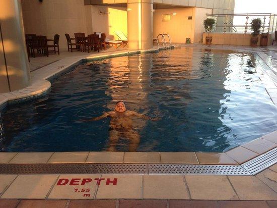 Grand Millennium Dubai:                   Swimming Pool again.